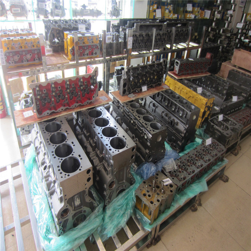sample room-- cylinder block
