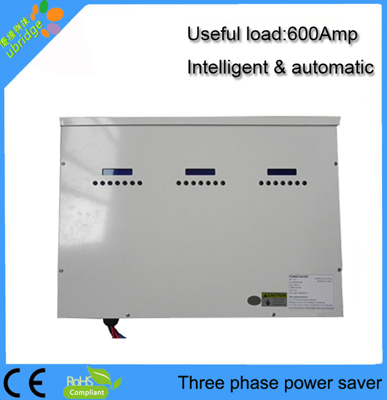 Three Phase Power Saver / Energy Saver Box with Auto-Control System