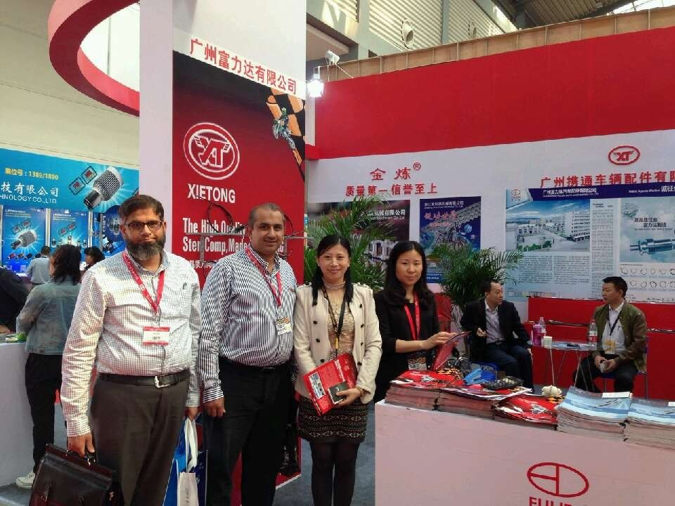 We have attended the 24th International Motorcycle Parts Fair in Xi'an Fair in China