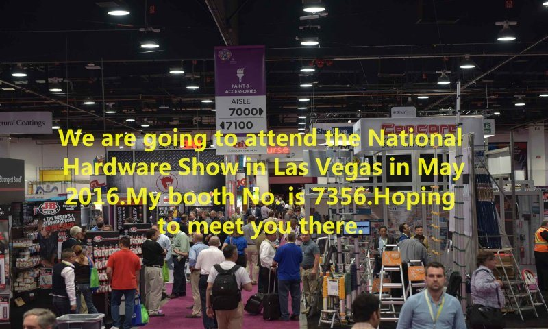 Hoping to meet you on NHS in Las Vegas this May.Booth No. 7356
