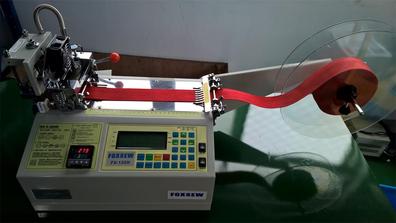 Automatic Hot Knife Webbing Cutting Machine