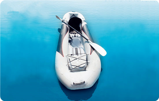 2015 New Inflatable Double Kayak with Large Transparent Window