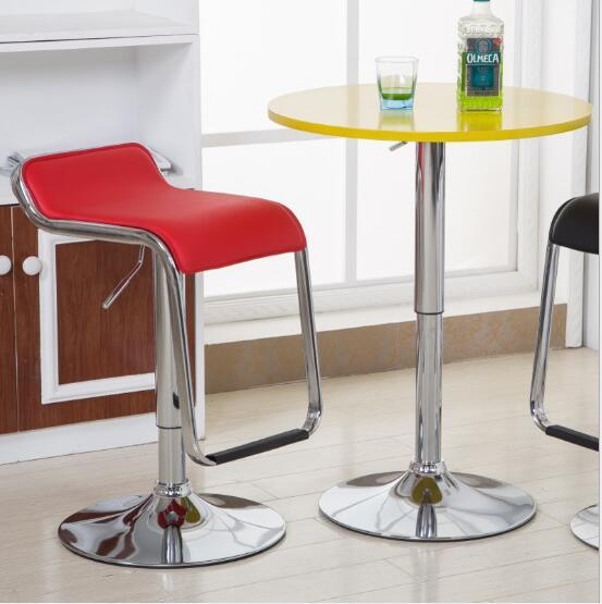 PU upholstery bar stool bar chair with footrest