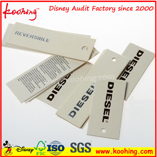 Hang Tag / PP Hang Tag / Paper Hang Tag