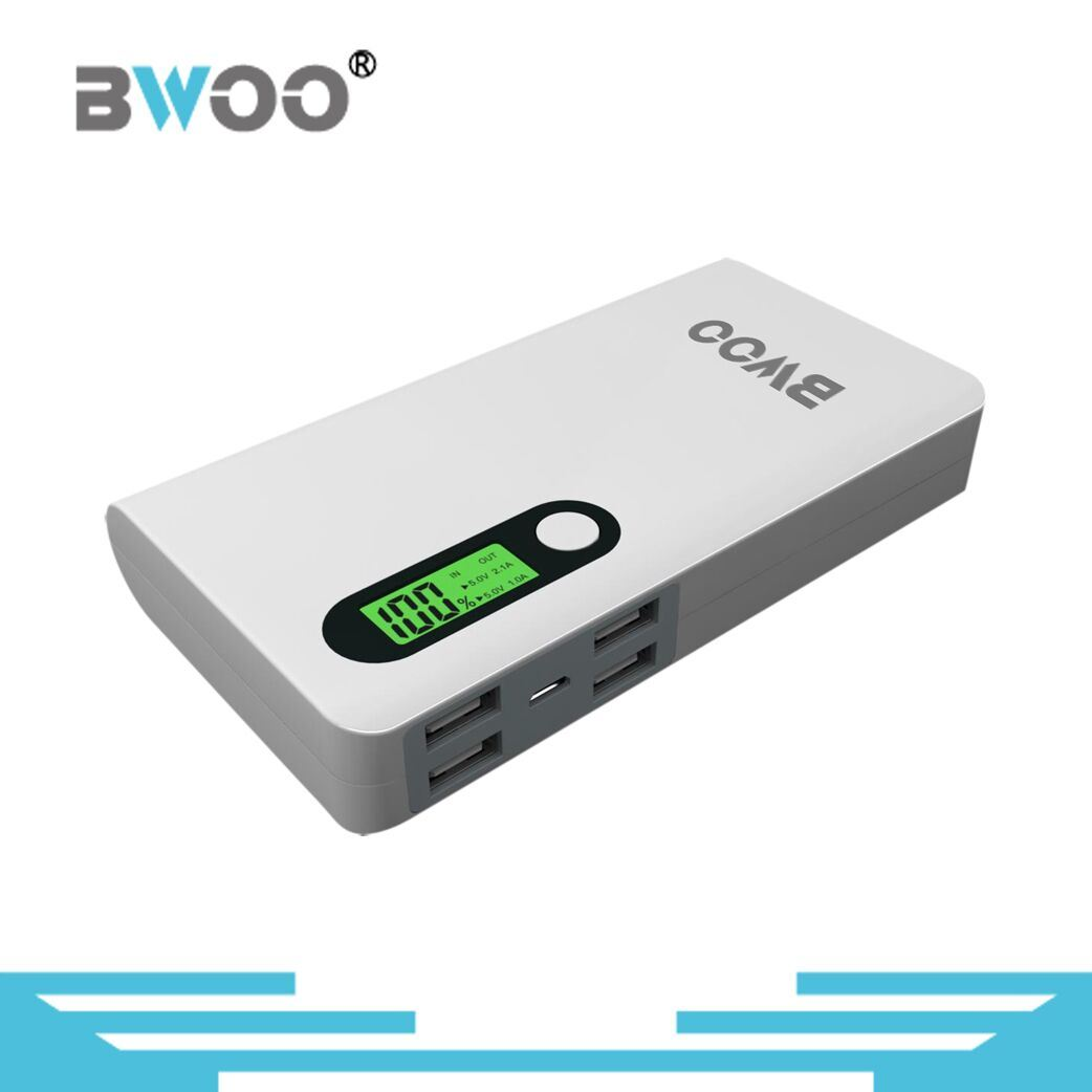 13200mAh Power bank with 4 usb ports