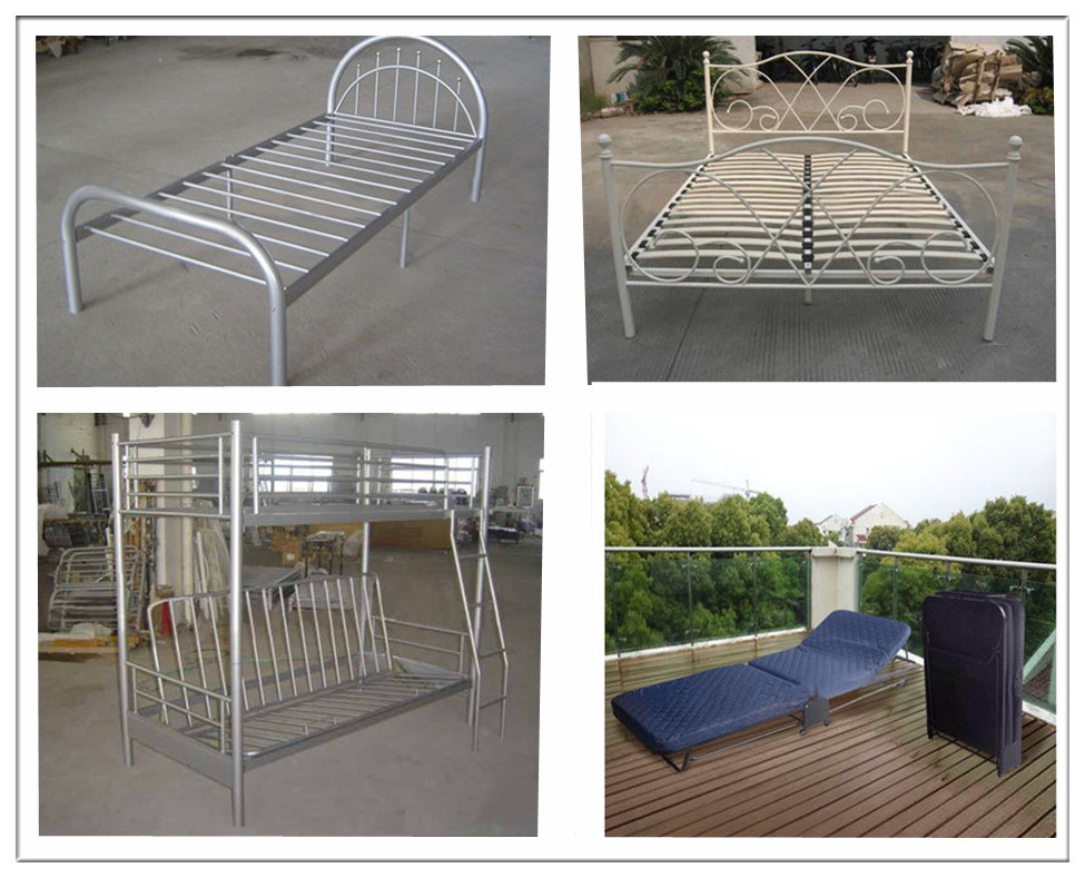Dormitory single or bulk metal bed for sale