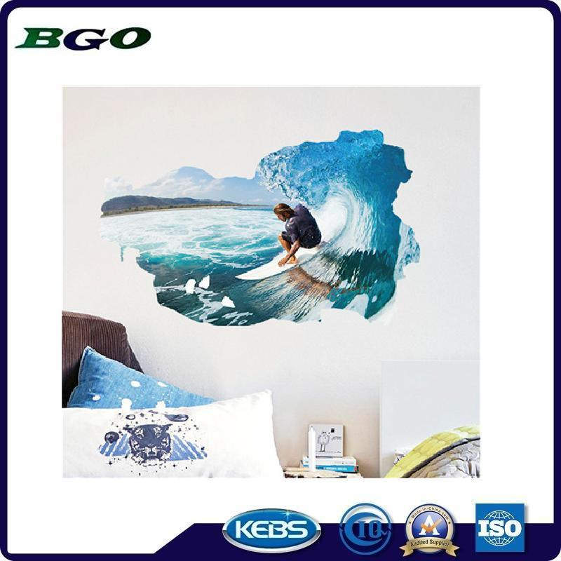 Removable Stickers 3D Wall Stickers Sports Surfing