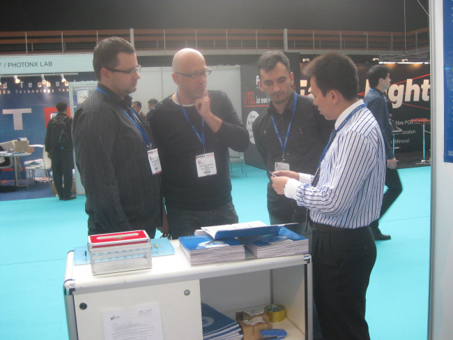 ECOC Exhibition in Netherland