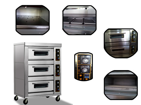 Hot sale gas oven/bakery oven/Baking oven for bread