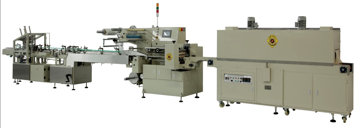 dairy shrink wrapping machine