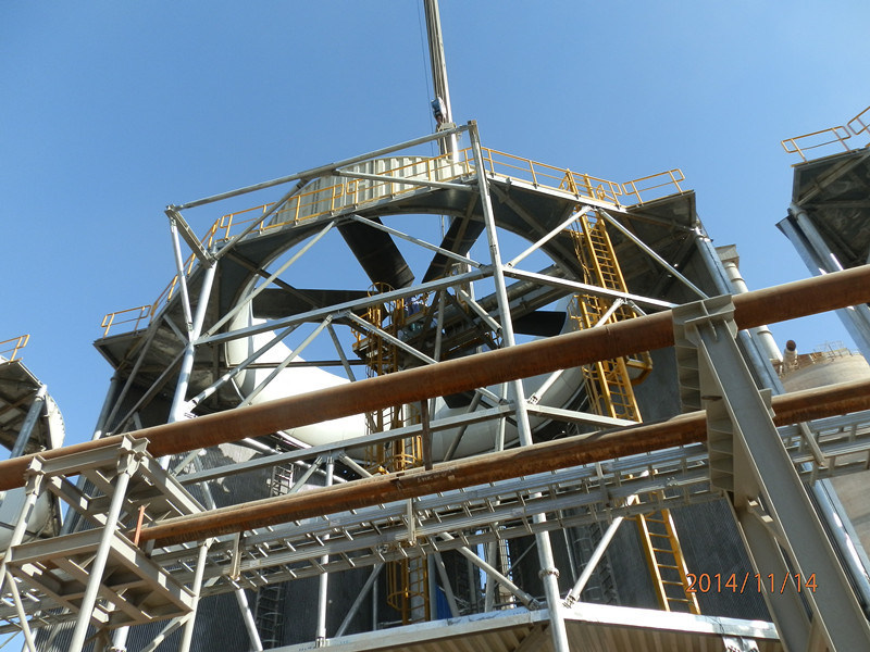 Dubai Steel Structure project