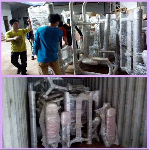 Aolite Gym Equipment Packing and Delivery