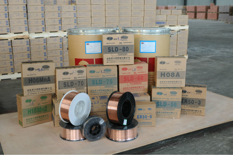 mig wire/copper coated welding wire ER70S-6