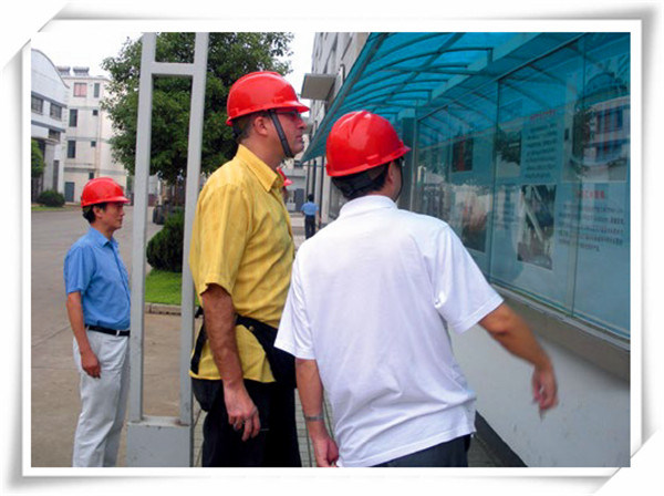Brazil customers visited for factory inspection