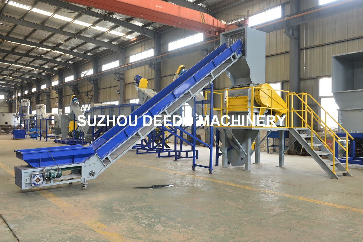 PP PE Film/ Woven Bag/Bag/Bottle Recycling Machine Line