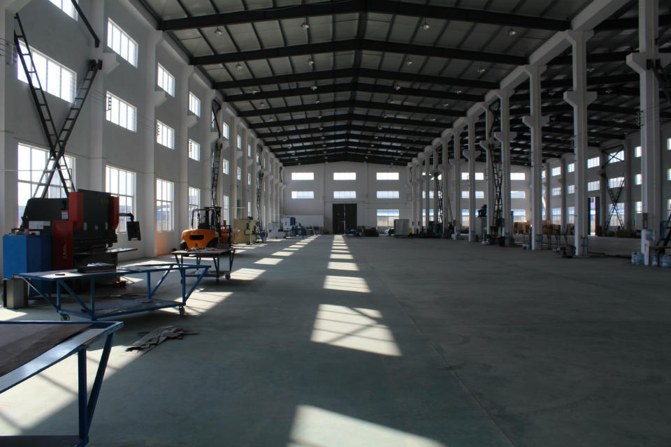 New Factory Specially For Powder Coating Line Making