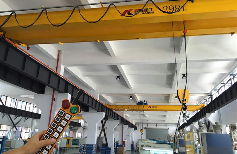 using wireless remote controller control the Overhead crane