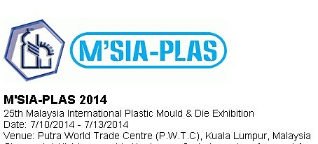 25th Malaysia International Plastic Mould & Die Exhibition