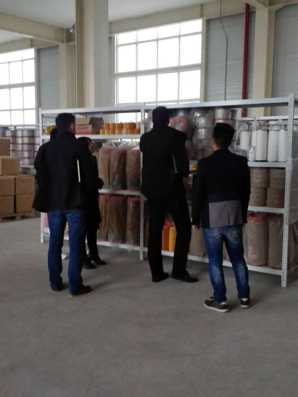Welcome the custom visiting our factory