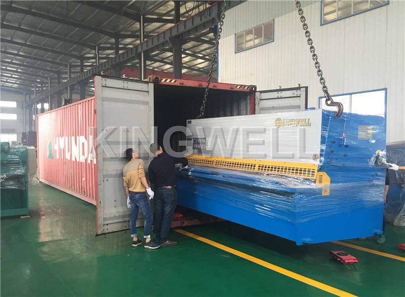 Deliver to Indonesia QC12Y-8X3200 shearing machine