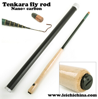 Nano carbon fiber tenkara fly rod