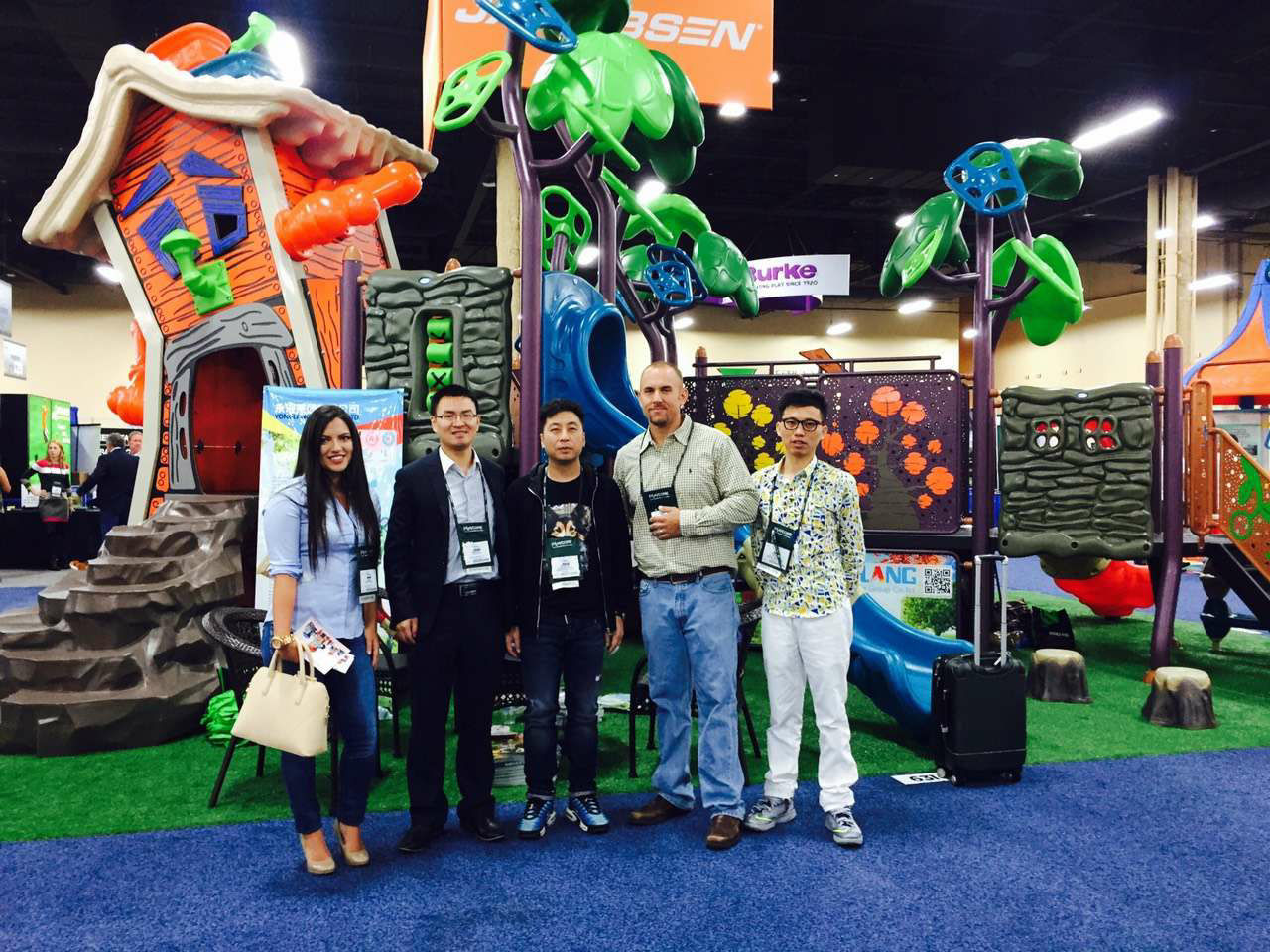 2015 NRPA Fair in USA , Yonglang Group