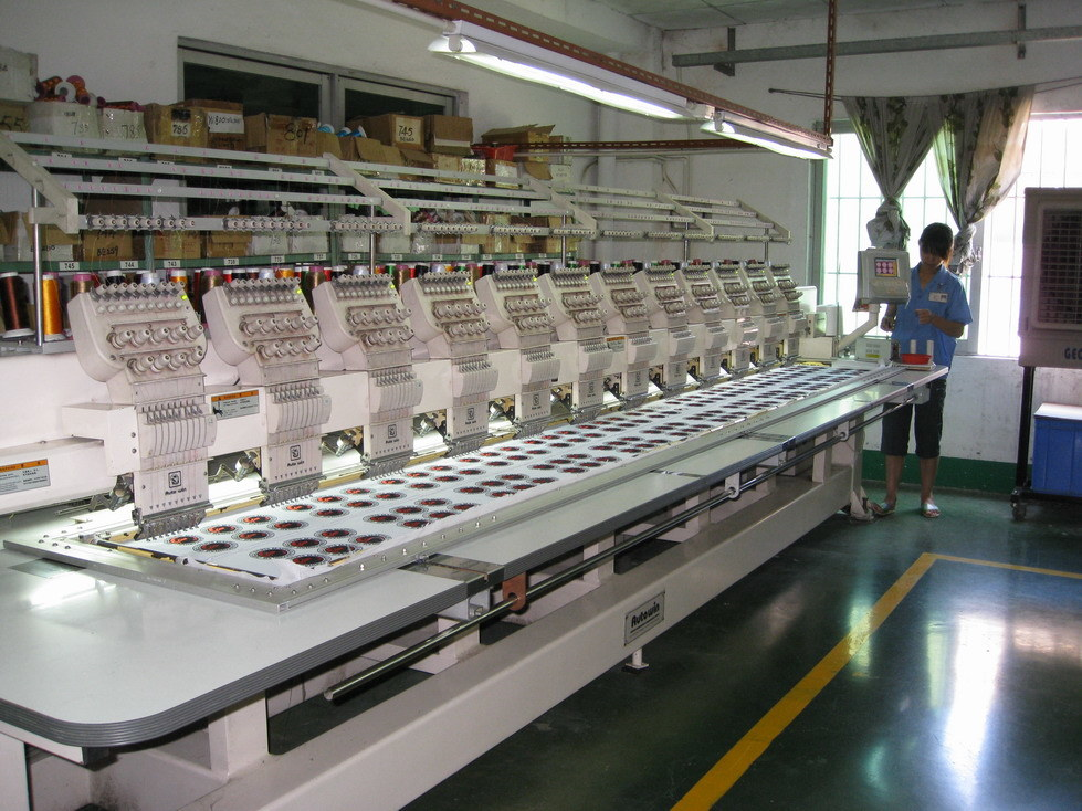 Embroideried Machine