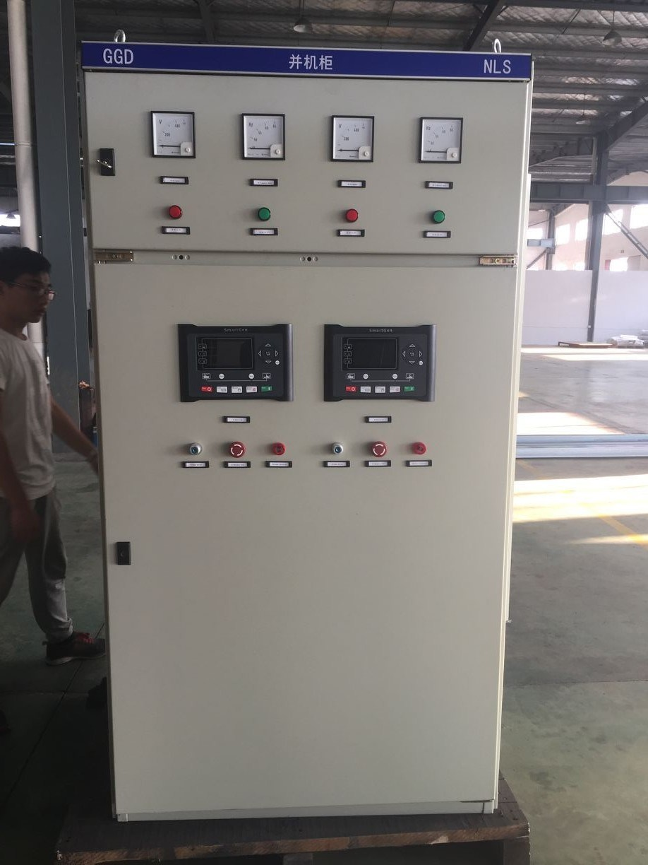 Synchronizing panel for 6 units 750kva Generator