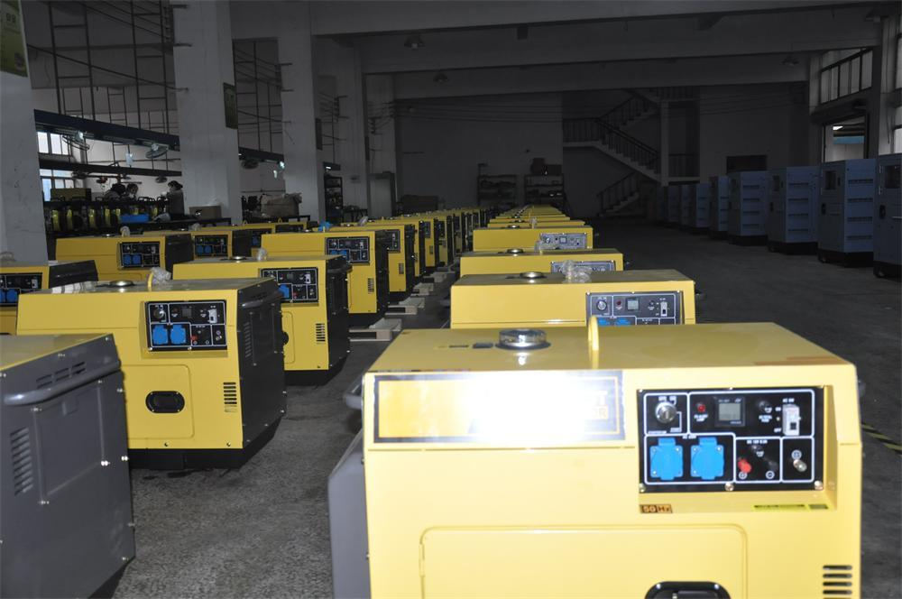 6kva Portable generator set to Venenzuela are ready