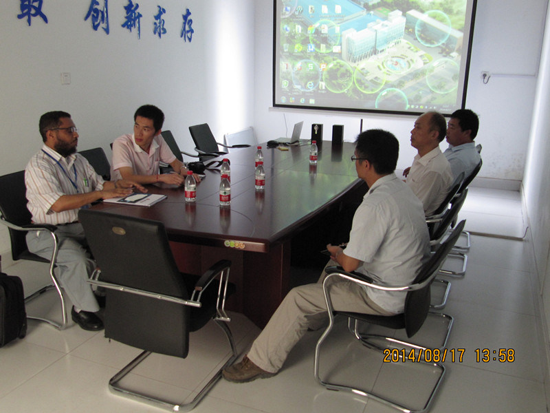 Customers from DUBAI Visiting Our Factory - Qingdao Haito