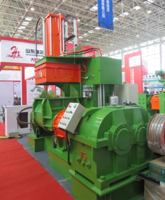 2016 guangrao exhibition for 75L rubber kneader machine