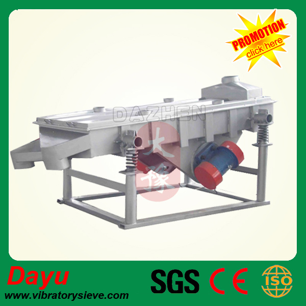 Linear Vibrating screen from kinds of powder with large capacity