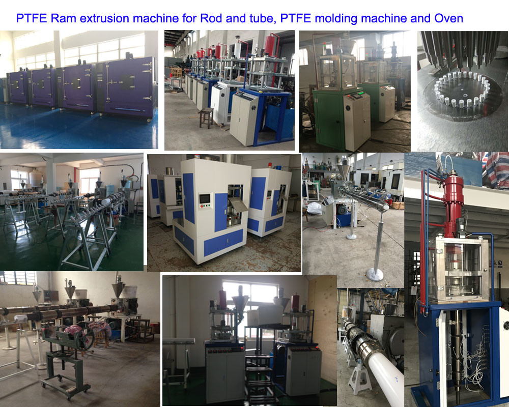 PTFE Ram extrusion mahchine and PTFE molding machine