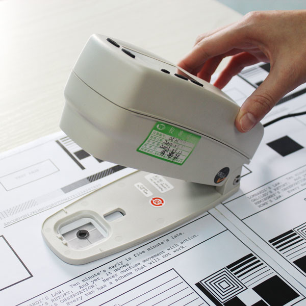 Densitometer of toner cartridge