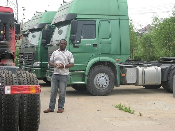 Nigeria Clients order Trailer Truck and container semi-trailers