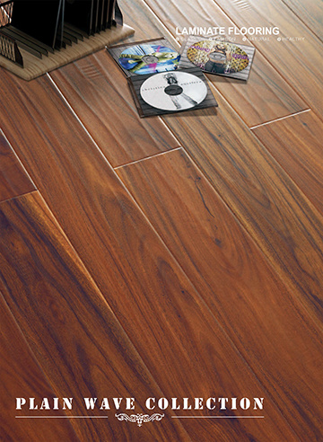 Handscraped U Groove HDF Laminate Floor