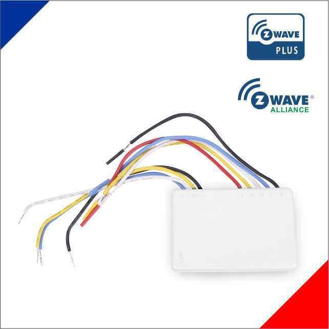 z-wave smart home automation wireless technology in wall build-in switch