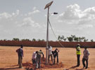 Solar Street Light Project in Kenya