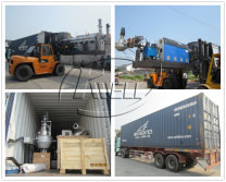 PE PP pelletizing line shipping