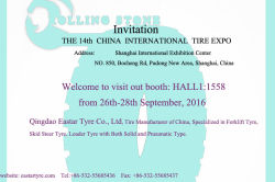 THE 14TH CHINA INTERNATIONAL TYRE EXPO 2016 SHANGHAI