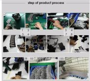 step of the bluetooth earphone production