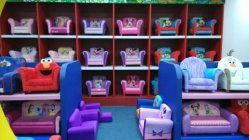DELTA CHILDREN Disney Designated Gorgeous Kids Sofas