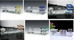 Crystal Office Stationery Set