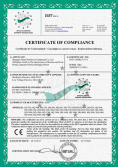 CE certificate of Dryer