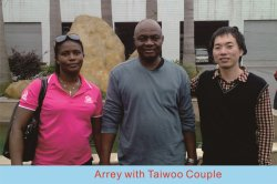 Arrey with Taiwoo Couple