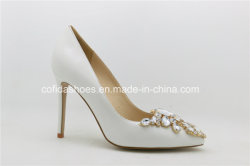 Trendy High Heels Leather Lady Bridal Shoes