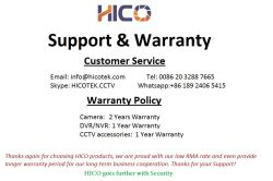 Support&Warranty