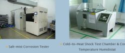 R&D Team and Testting equipment: