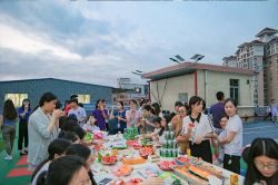 HEALONG Rooftop Basketball Park Party
