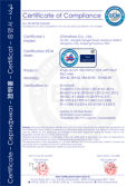 CE Certificate - Single room air handling unit SRA
